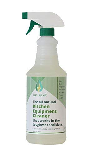 Naturama, Eco-Friendly Kitchen Equipment Cleaner, EPA Registered, Made in The U.S. All Natural.