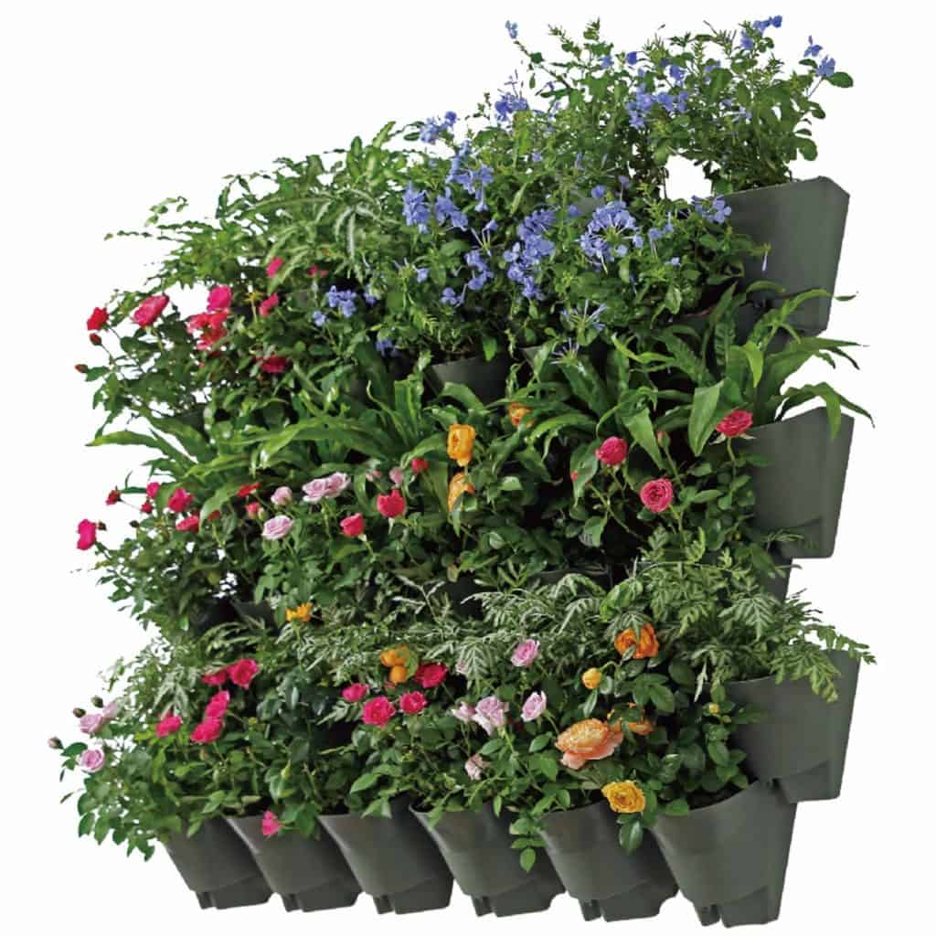 Self-Watering Vertical Wall Hangers For Both Indoors and Outdoors
