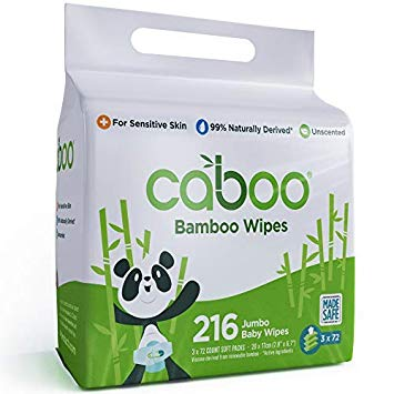Tree-Free Bamboo Baby Wipes by Caboo