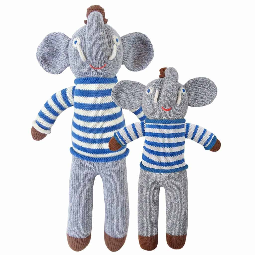 Rivier The Elephant Mini Plush Doll by Blabla
