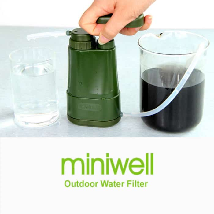 Camping Portable Water Purifier Filtration System