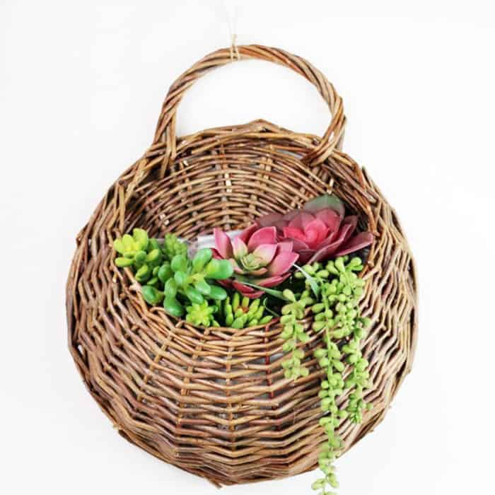 Rattan Basket Eco-Friendly Handmade Vase