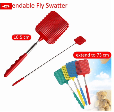 Fly Swatter Retractable Insect Killer
