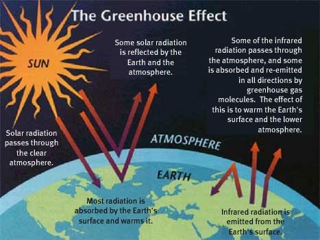 greenhouse effect diagram for beginners